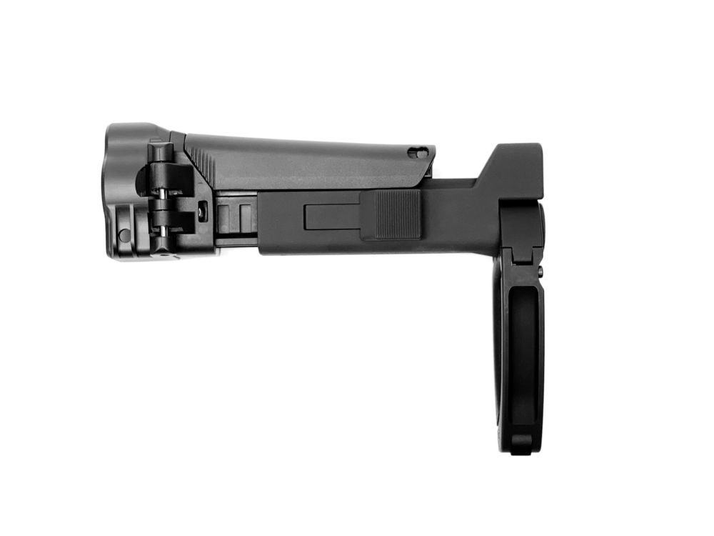 MODULAR STOCK SYSTEM FOR STRIBOG COMBO WITH TAILHOOK LOWER ADAPTER – BLACK