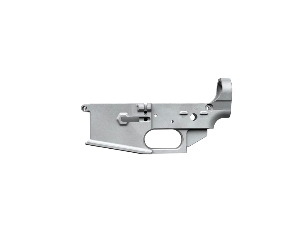 F5 MFG 80% BILLET LOWER RECEIVER (RAW FINISH) LIMITED OFFER