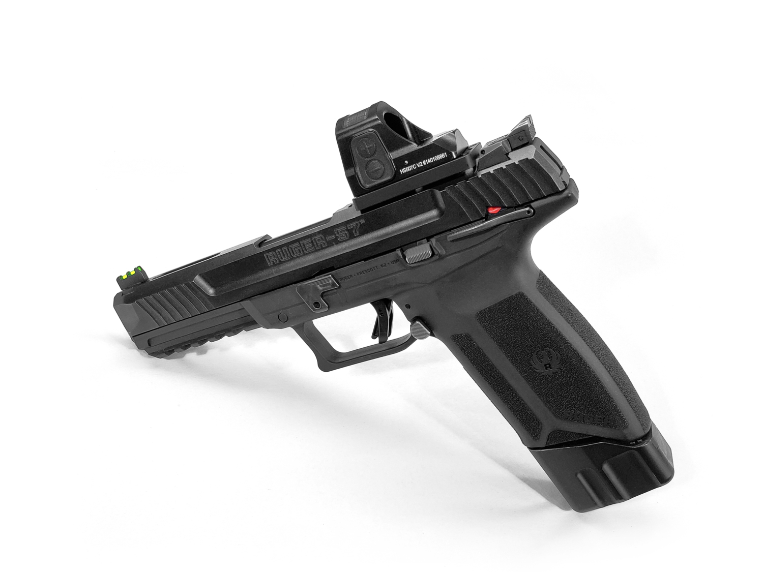 RUGER 57 + 5 OPTICS PACKAGE FROM F5 MFG (MANUFACTURING)